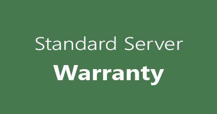 standard server warranty