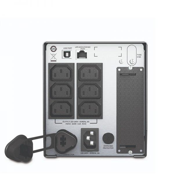 APC-SMT750I-Back