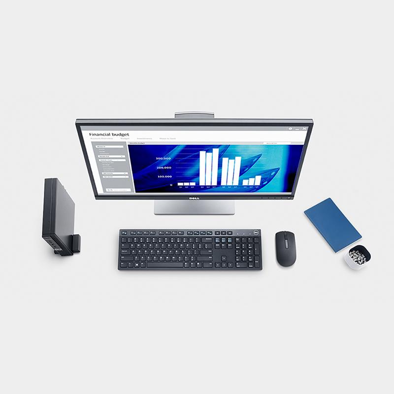 Dell OptiPlex 3060 Micro i5-8500T 2 1G 9M 6C UMA 8G 1TG Ubu Wireless VGA  Port