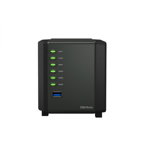 Synology-DS419SLIM-Front