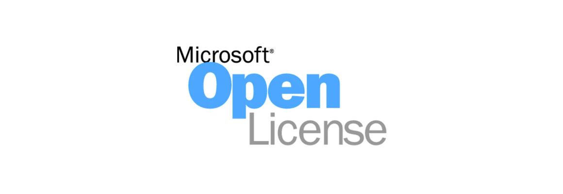 Microsoft-Open-License-Banner