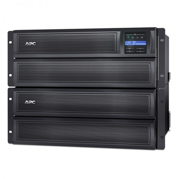 APC-SMX3000HV-Front-Right-Rack-with-Battery