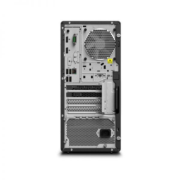 Lenovo-ThinkStation-P340-Tower-Rear