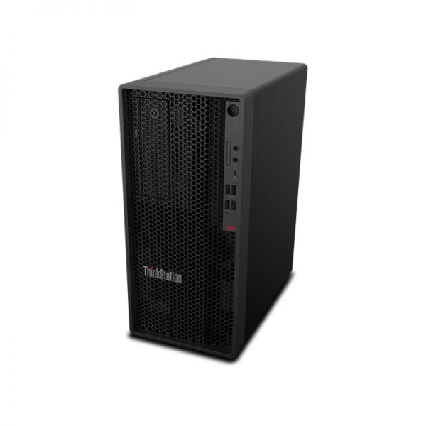 Lenovo-ThinkStation-P340-Tower-Top-Left